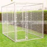 High quality wholesale low price large outdoor chain link dog kennel/dog fence for sale