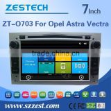 car parts For Opel Astra Vectra radios audio player support SWC/Phone book/Analog TV/digital TV