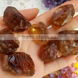 100% Natural Untreated Brazilian Citrine Crystal Stone Yellow Color Loose Gemstone Rough