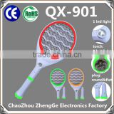 QX901-2 Mosquito Insect Killer torch 5+1 mosquito catcher rechargable electric mosquito swatter