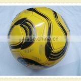 high quality pvc leather surface training football