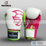 Rose Red New Style hot Pretorian twins muay thai boxing gloves guantes boxeo gloves Grant Luva Boxe MMA Training Boxing Gloves