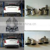 For BENZ C-CLASS W204 C63 AM style muffler/ exhaust tips