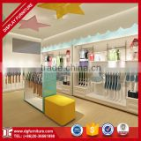 Latest style kids baby clothes store interior design