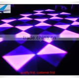 High cost performance disco floor 432 pcs acrylic dance floor, make led dance floor