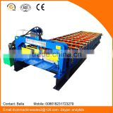 Hydraulic system automatic steel cold wall tile trapezoidal sheet metal machine for construction building