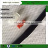 Drip Irrigation Plastic Hanging Clamp For PE Pipe Secure Fixed Tool For Greenhouse Micro Tube