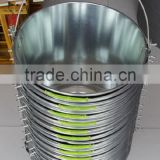 Galvanized ice bucket,iron bucket ,metal beer bucket