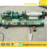 beekeeeping equipment manual beeswax comb foundation machine with 250mm long roller