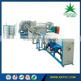 PVC layflat fire hose making machine