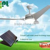 Vent tool solar panel ceiling fan with 3pc fan blade solar power system home ventilation solar panel powered solar ceiling fan R