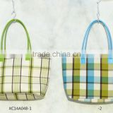 canvas shopping bag with handle