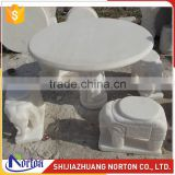Carving elephant four seater marble bench and dining table top NTS-B002LI