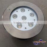 High bright 6w IP67 EMC approval in ground led light fixtures