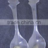 Disposable Plastic Tea spoon/plastic spoon/ice cream spoon