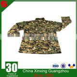 Wholesale Custom Woodland Camouflage Cotton Polyester Ripstop Outdoor Hunting Military Uniform ACU
