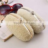 minaudiere bag mother of pearl evening clutch case