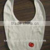 100% natural bamboo/cotton baby bib