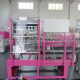 free-noise with feeder system PLC control  system automatic shrink film wrapping packaging machines