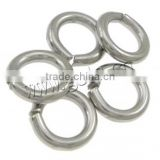 New 14mm stainless steel Open Jump Rings For Jewelry Making Findings