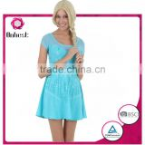 Hot salesfrozen dress anna elsa for adults princess dresses wholesale elsa princess dress