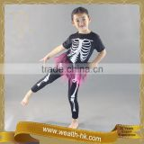 Carnival Black Skeleton Costume Halloween