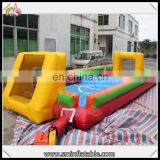 customize high quality inflatable football field fence inflatable soccer field for sporters
