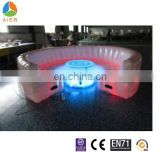 Hot sale inflatable furniture/ inflatable sofa/inflatable sofa with LED