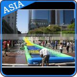Commercial grade giant inflatable water slip N slide for big party on street
