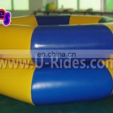 Giant Two Color Inflatable Double Tubes Swimming Pool