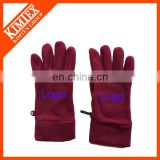 Headphone mechanics custom winter gloves logo