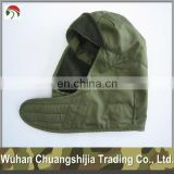olive green military winter cap