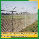Shengcheng fence selling chain link fence panel wrought iron fence