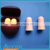 Promotional Soft And Comfortable safety Pu Foam Earplug,Ear Plug wtih plastic box packing