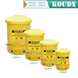 KOUDX Oily waste can yellow