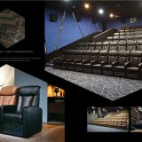 Popular comfortable stationary imax cinema hall movie theater sofa