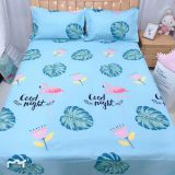 Hot sales woven design soft twill bed sheet polyester fabric printed microfiber fabric