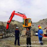Fixed Type Pedestal Boom Rockbreaking System
