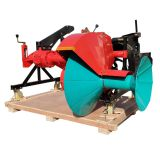 tractor mounted type ridger making machine with tiller