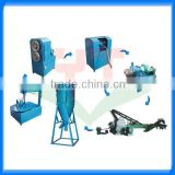 2015 new invented car/truck tire scrap recycling machine/tire shredder equipment with high quality