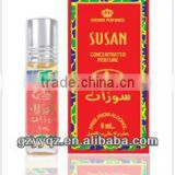 6ml red rose concentrated perfume arabic oil hot sale in dubai