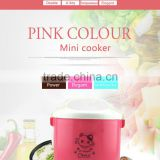 Chinese Semi-automatic Pink Rice Cooker