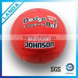 colorful soft rubber handball and rubber dodgeball