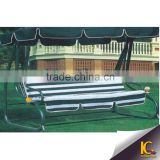 Lily 4 seats round cast aluminum set hammock sofa swing hanging chair                                                                         Quality Choice