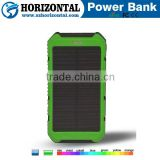 Factory Price High Quality New Solar Power Bank Charger Products Distributor Slim Solar Power Bank 10000mah