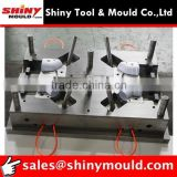 4 cavities pipe fitting mould PVC elbow mould