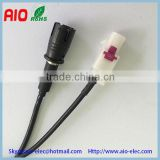 Car Aerial Adaptor Antenna RAKU female to White FAKRA male Lead Cable For Car Van Bus CB Radio