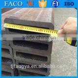 Tianjin square rectangular pipe ! bs en 10217/10219 electric tricycle use alloy square steel tube