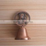 customized antique copper church dinner bells
