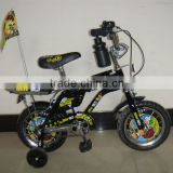 HH-K1252B 12 inch cheap children bike bicycle with flag from China factory manufacturer